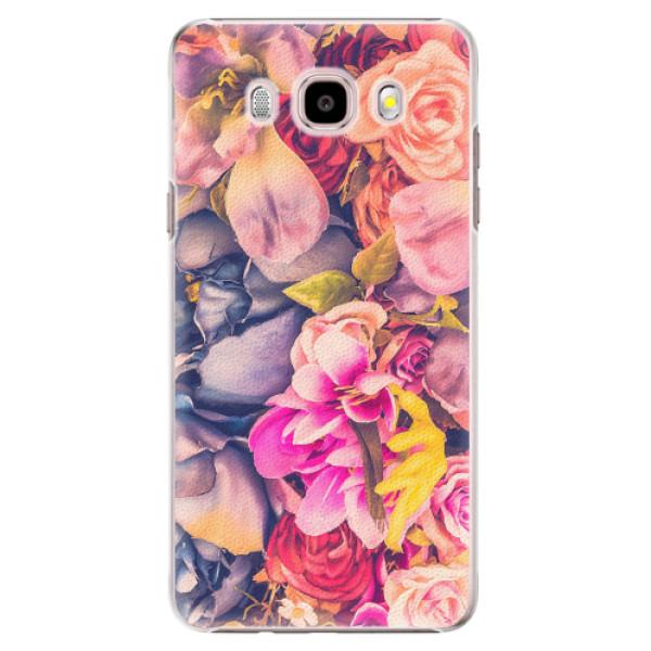 Plastové pouzdro iSaprio - Beauty Flowers - Samsung Galaxy J5 2016