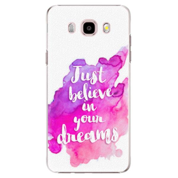Plastové pouzdro iSaprio - Believe - Samsung Galaxy J5 2016