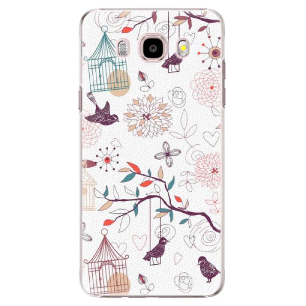 Plastové pouzdro iSaprio - Birds - Samsung Galaxy J5 2016