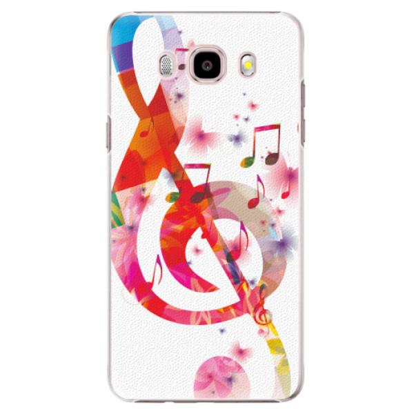 Plastové pouzdro iSaprio - Love Music - Samsung Galaxy J5 2016