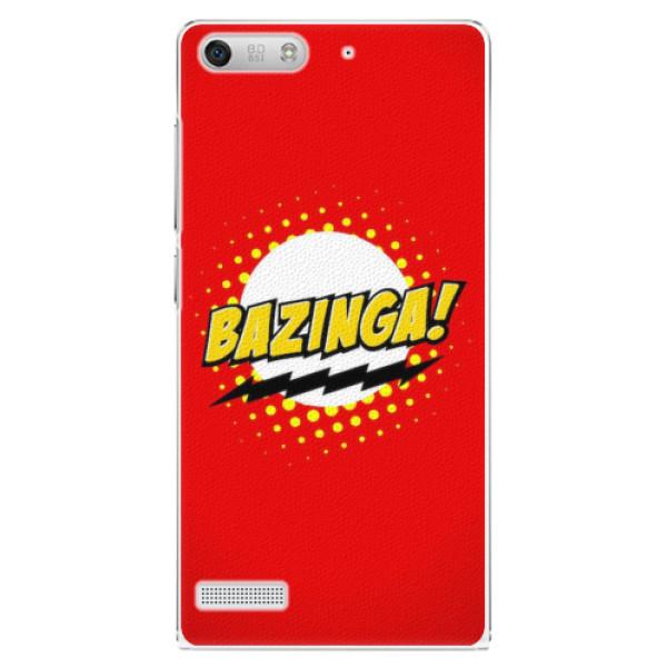 Plastové pouzdro iSaprio - Bazinga 01 - Huawei Ascend G6