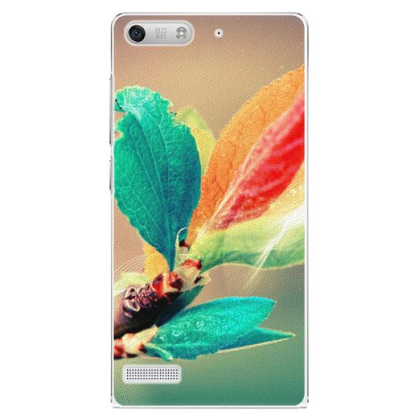 Plastové pouzdro iSaprio - Autumn 02 - Huawei Ascend G6