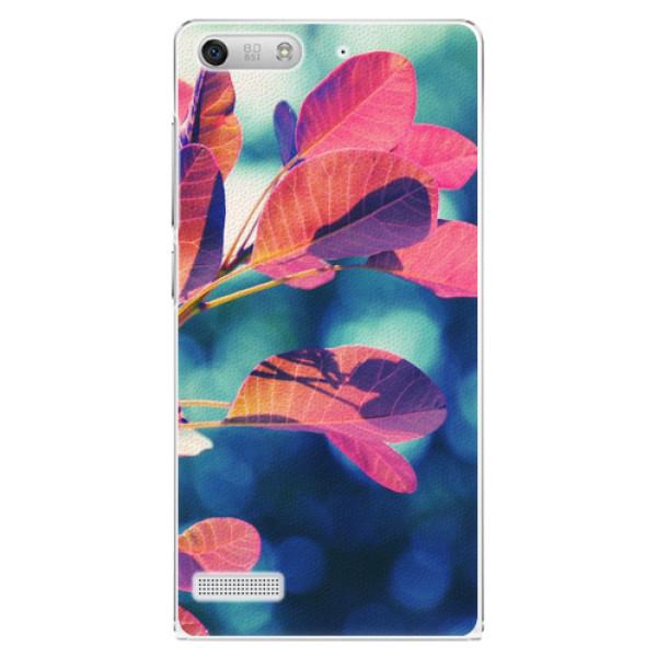 Plastové pouzdro iSaprio - Autumn 01 - Huawei Ascend G6