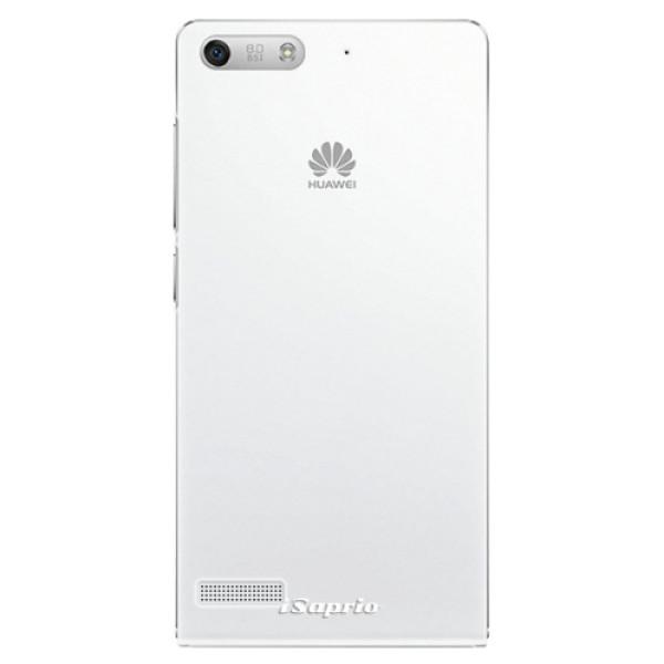 Plastové pouzdro iSaprio - 4Pure - mléčný bez potisku - Huawei Ascend G6