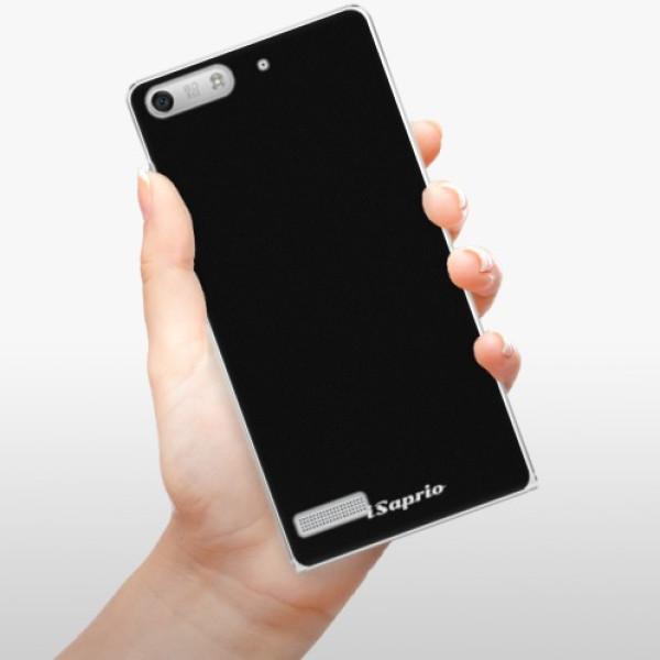 Plastové pouzdro iSaprio - 4Pure - černý - Huawei Ascend G6