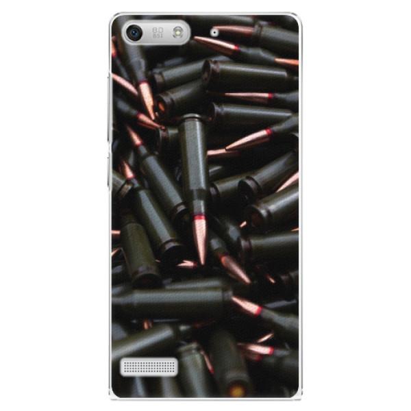 Plastové pouzdro iSaprio - Black Bullet - Huawei Ascend G6