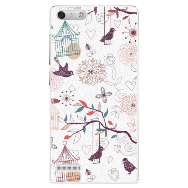 Plastové pouzdro iSaprio - Birds - Huawei Ascend G6