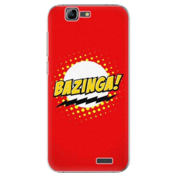 Plastové pouzdro iSaprio - Bazinga 01 - Huawei Ascend G7