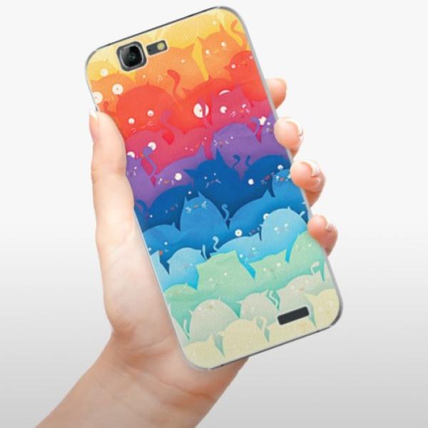Plastové pouzdro iSaprio - Cats World - Huawei Ascend G7