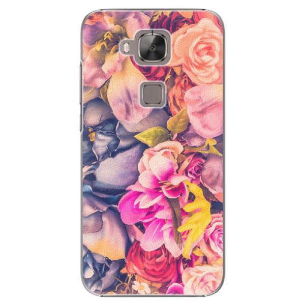 Plastové pouzdro iSaprio - Beauty Flowers - Huawei Ascend G8