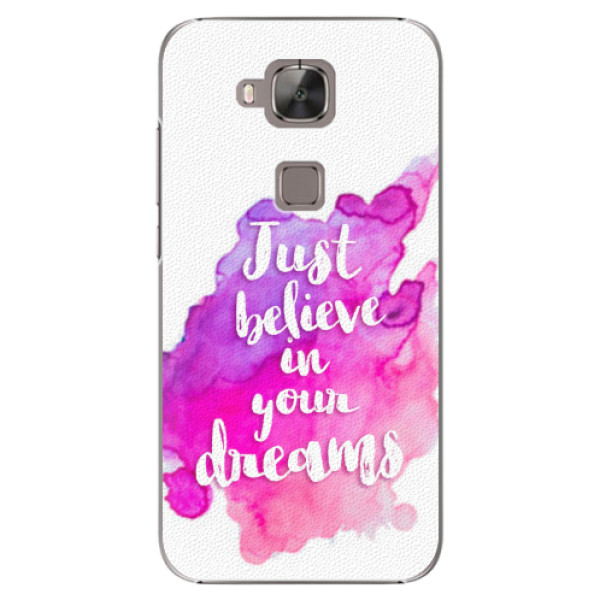 Plastové pouzdro iSaprio - Believe - Huawei Ascend G8