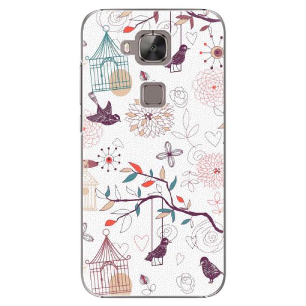 Plastové pouzdro iSaprio - Birds - Huawei Ascend G8