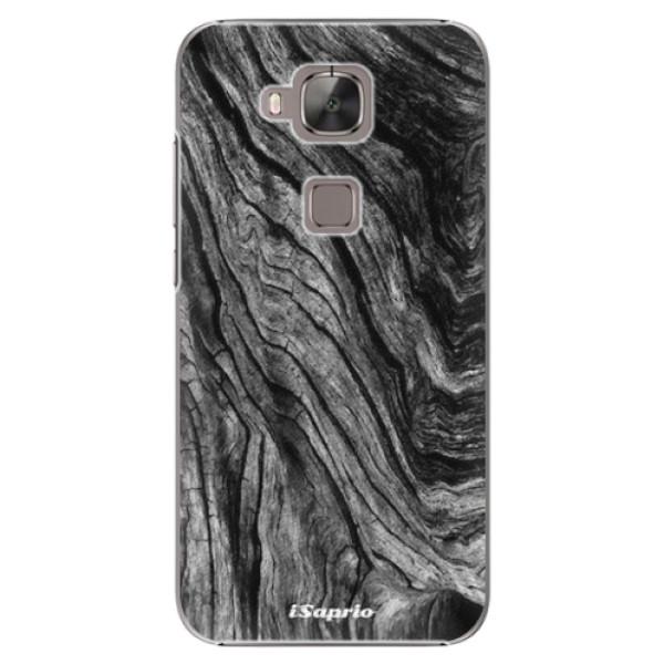 Plastové pouzdro iSaprio - Burned Wood - Huawei Ascend G8