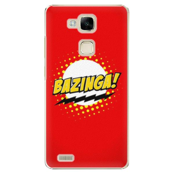 Plastové pouzdro iSaprio - Bazinga 01 - Huawei Mate7