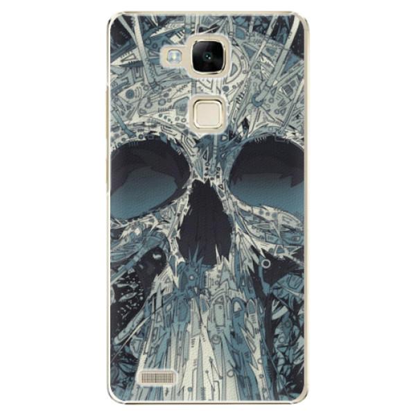 Plastové pouzdro iSaprio - Abstract Skull - Huawei Mate7