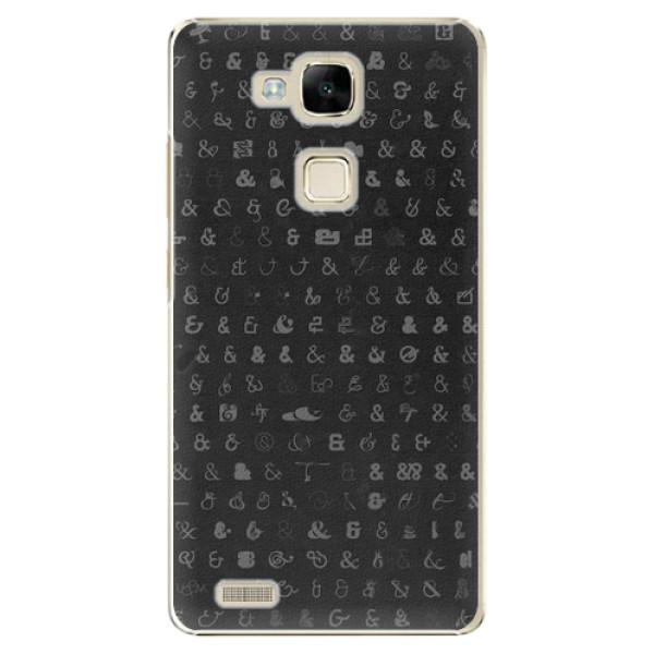 Plastové pouzdro iSaprio - Ampersand 01 - Huawei Mate7