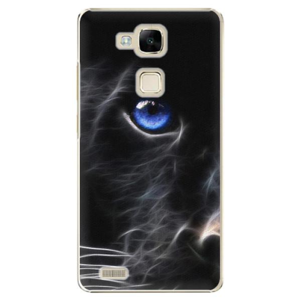 Plastové pouzdro iSaprio - Black Puma - Huawei Mate7