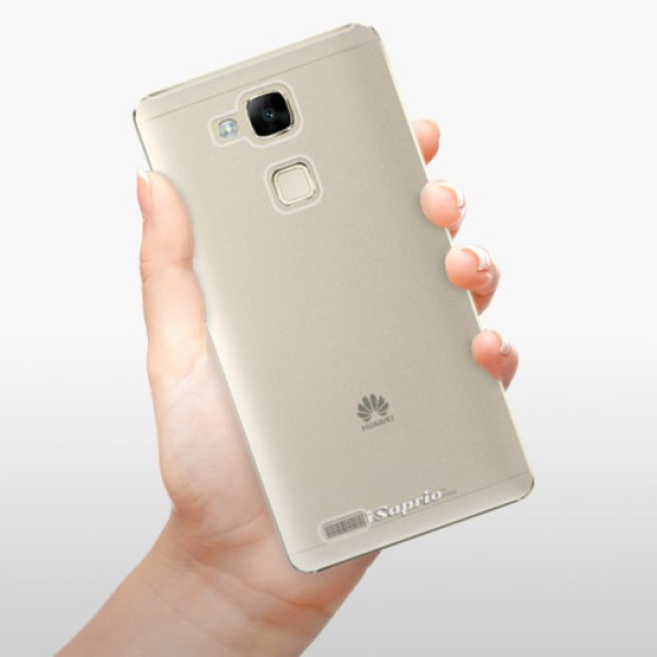 Plastové pouzdro iSaprio - 4Pure - mléčný bez potisku - Huawei Mate7