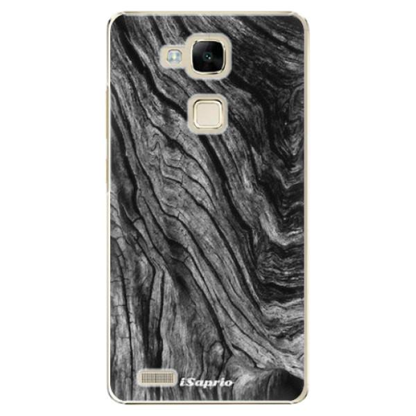 Plastové pouzdro iSaprio - Burned Wood - Huawei Mate7