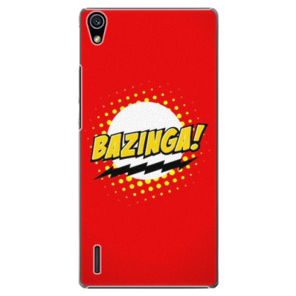 Plastové pouzdro iSaprio - Bazinga 01 - Huawei Ascend P7