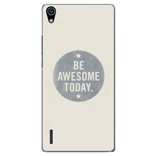 Plastové pouzdro iSaprio - Awesome 02 - Huawei Ascend P7
