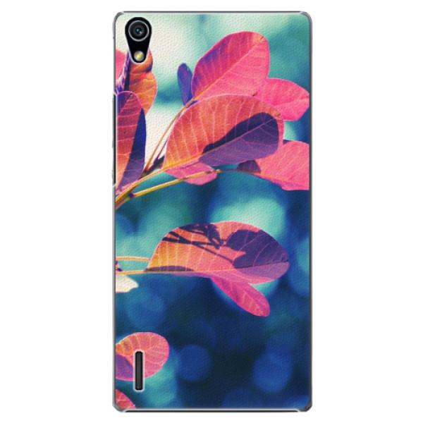 Plastové pouzdro iSaprio - Autumn 01 - Huawei Ascend P7