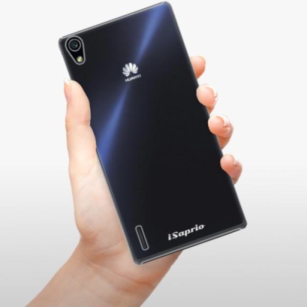 Plastové pouzdro iSaprio - 4Pure - mléčný bez potisku - Huawei Ascend P7