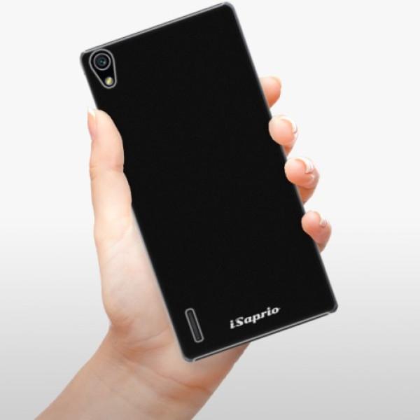 Plastové pouzdro iSaprio - 4Pure - černý - Huawei Ascend P7