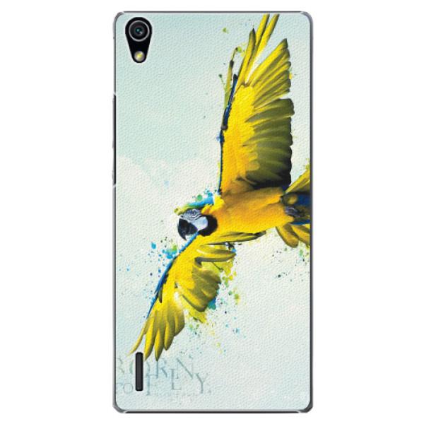 Plastové pouzdro iSaprio - Born to Fly - Huawei Ascend P7