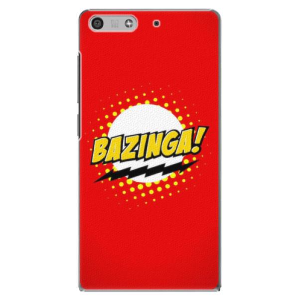 Plastové pouzdro iSaprio - Bazinga 01 - Huawei Ascend P7 Mini