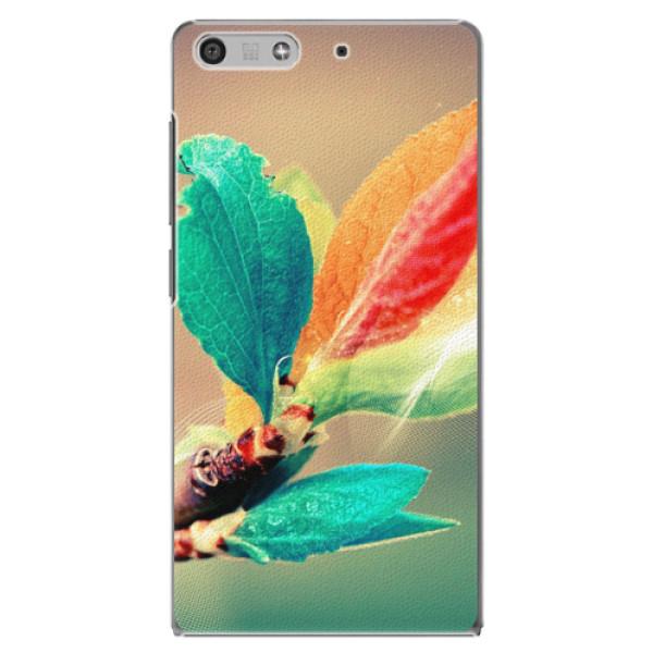 Plastové pouzdro iSaprio - Autumn 02 - Huawei Ascend P7 Mini