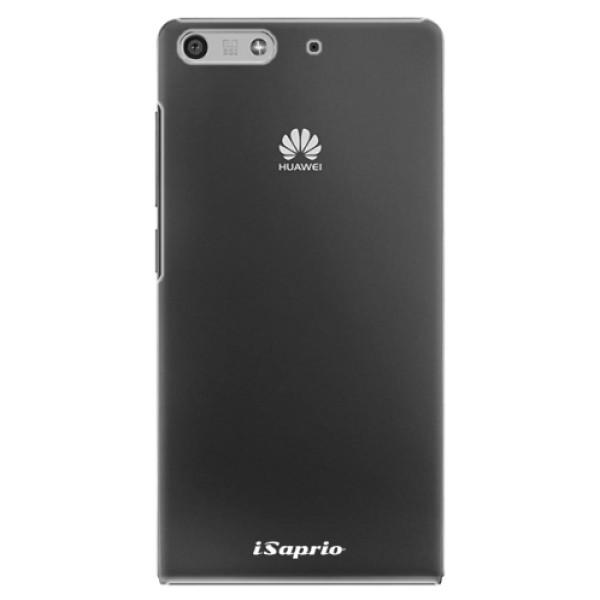 Plastové pouzdro iSaprio - 4Pure - mléčný bez potisku - Huawei Ascend P7 Mini