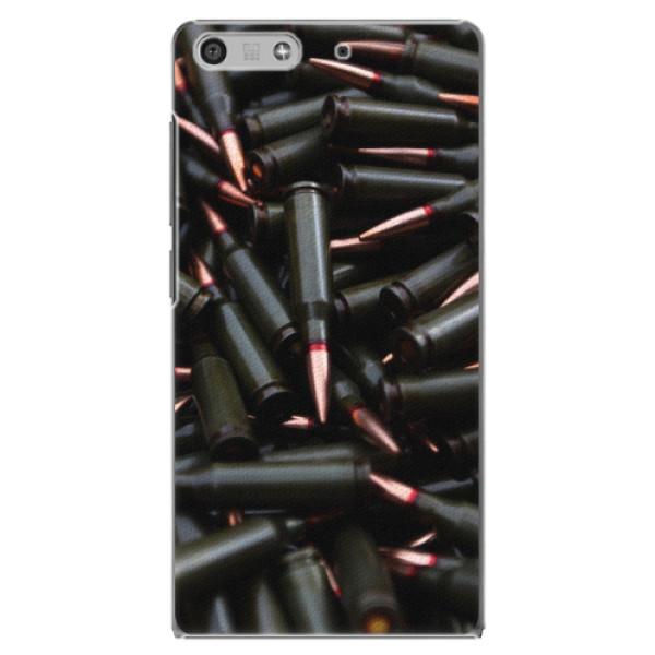 Plastové pouzdro iSaprio - Black Bullet - Huawei Ascend P7 Mini