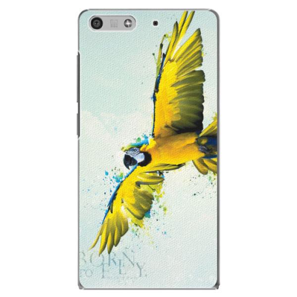 Plastové pouzdro iSaprio - Born to Fly - Huawei Ascend P7 Mini