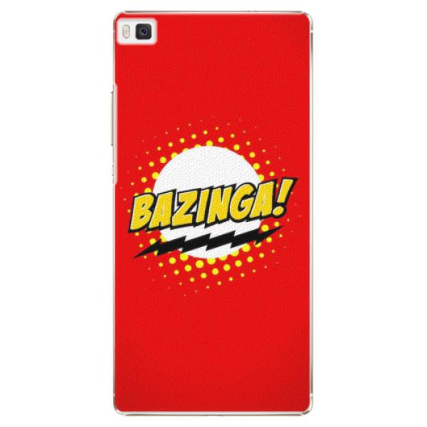Plastové pouzdro iSaprio - Bazinga 01 - Huawei Ascend P8