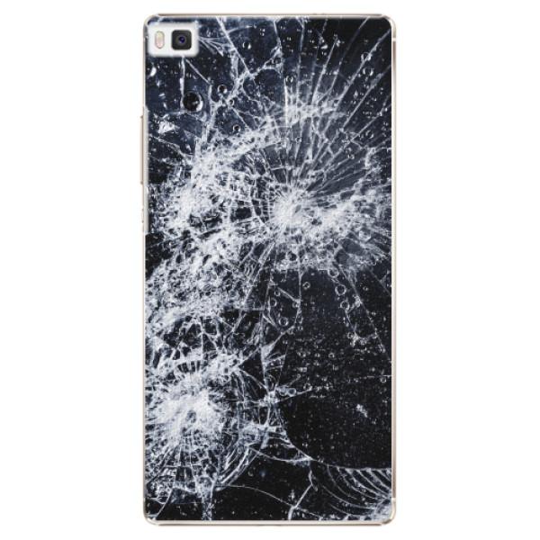 Plastové pouzdro iSaprio - Cracked - Huawei Ascend P8