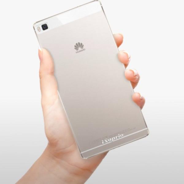 Plastové pouzdro iSaprio - 4Pure - mléčný bez potisku - Huawei Ascend P8