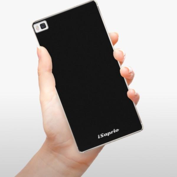 Plastové pouzdro iSaprio - 4Pure - černý - Huawei Ascend P8
