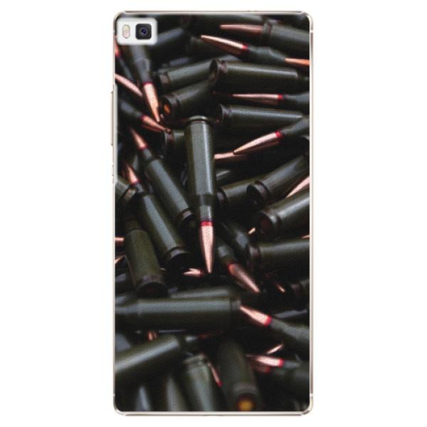 Plastové pouzdro iSaprio - Black Bullet - Huawei Ascend P8
