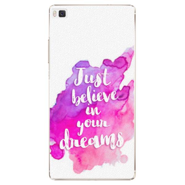 Plastové pouzdro iSaprio - Believe - Huawei Ascend P8