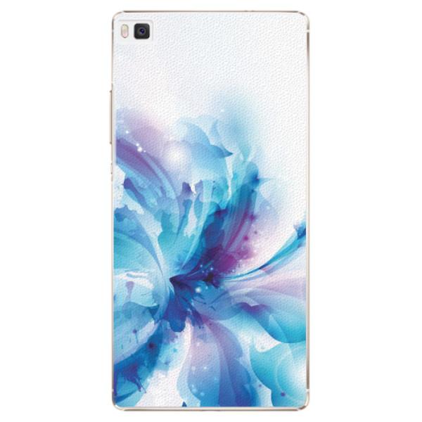 Plastové pouzdro iSaprio - Abstract Flower - Huawei Ascend P8