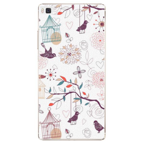 Plastové pouzdro iSaprio - Birds - Huawei Ascend P8