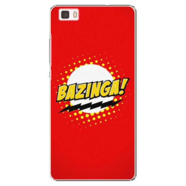 Plastové pouzdro iSaprio - Bazinga 01 - Huawei Ascend P8 Lite