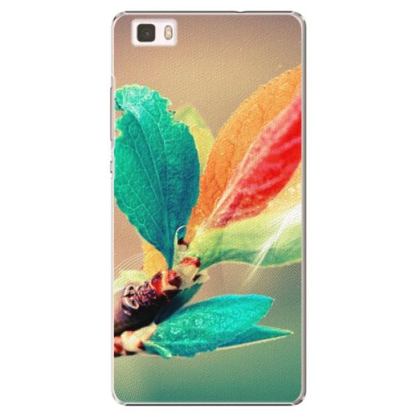 Plastové pouzdro iSaprio - Autumn 02 - Huawei Ascend P8 Lite