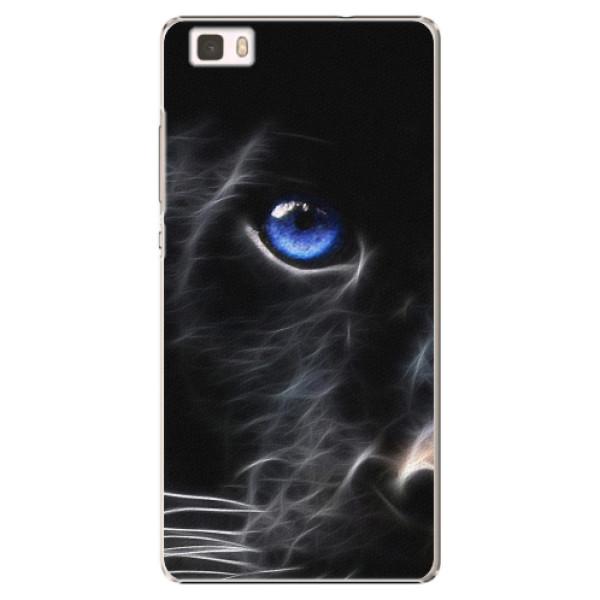 Plastové pouzdro iSaprio - Black Puma - Huawei Ascend P8 Lite