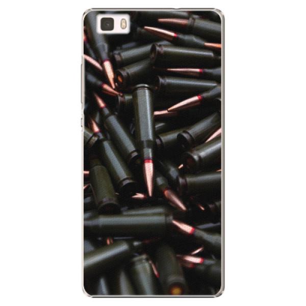 Plastové pouzdro iSaprio - Black Bullet - Huawei Ascend P8 Lite