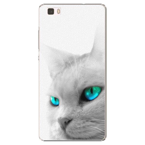 Plastové pouzdro iSaprio - Cats Eyes - Huawei Ascend P8 Lite