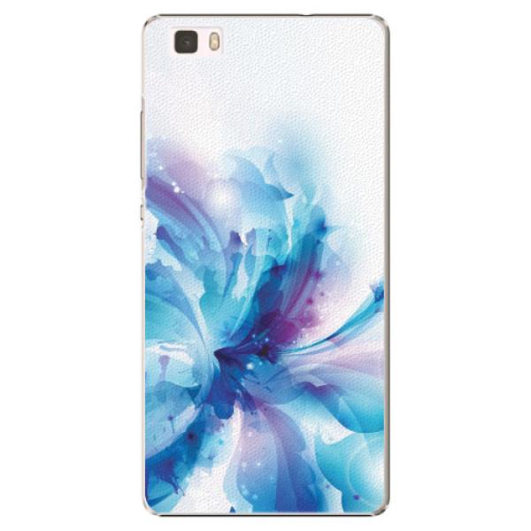 Plastové pouzdro iSaprio - Abstract Flower - Huawei Ascend P8 Lite