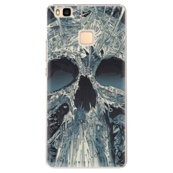 Plastové pouzdro iSaprio - Abstract Skull - Huawei Ascend P9 Lite