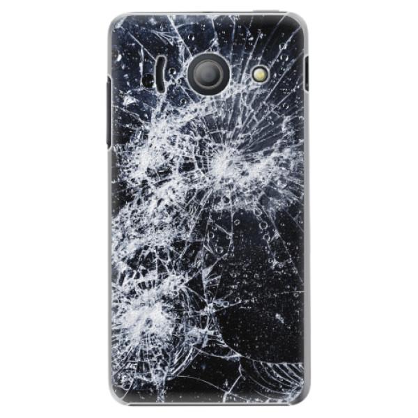Plastové pouzdro iSaprio - Cracked - Huawei Ascend Y300